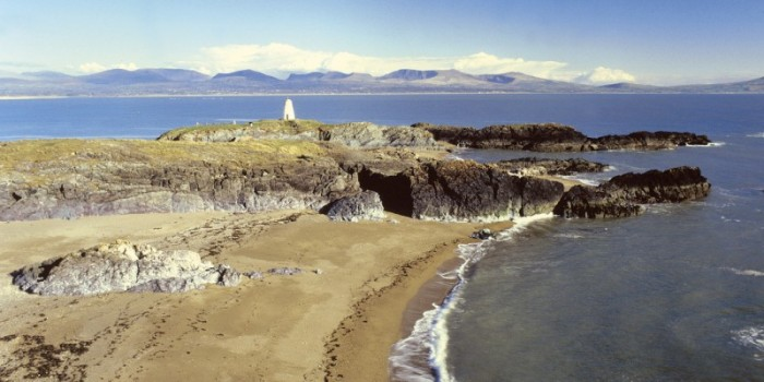 Romantic Llanddwyn Island