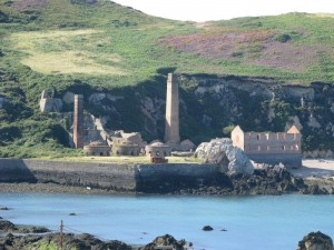 Porthwen brickworks, near Bull Bay