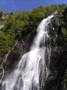 Aber Falls, near Bangor, Gwynedd, North Wales
