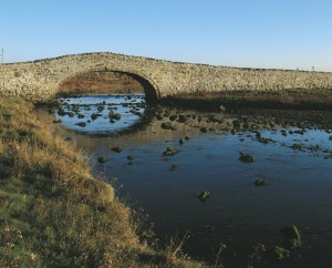 Aberffraw bridge, Anglesey Coastal Path route