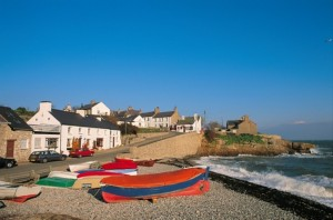Moelfre cottages, East Coast Anglesey