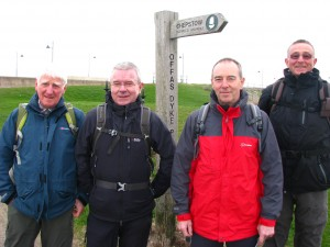 Walkers on Offa's Dyke