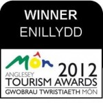 Anglesey Tourism Awards Winner 2012