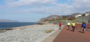 cycling north wales coast