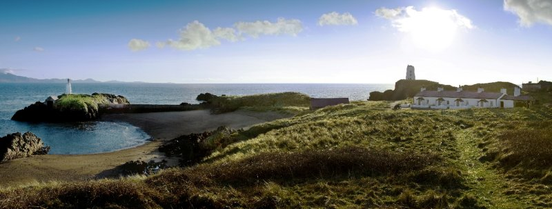 Panorama Llanddwyn Island
