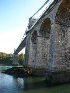 Menai Suspension Bridge, Anglesey