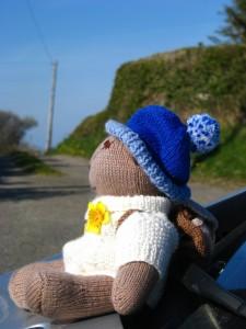 Rambler Ted on the Wales Coast Path Llanddona