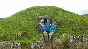 Bryn Celli Ddu, burial chamber Anglesey Coastal Path nr. Moel y Don