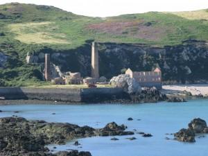 Porth Wen brickworks Anglesey Coastal Path