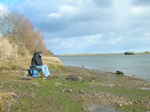 Shipwreck at Dulas Estuary, Anglesey Coast Path